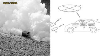 Toyota's tear gas system designed to smoke out car crooks