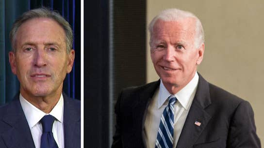 If Joe Biden decides to make his 2020 White House bid will Howard Schultz still consider running for president?