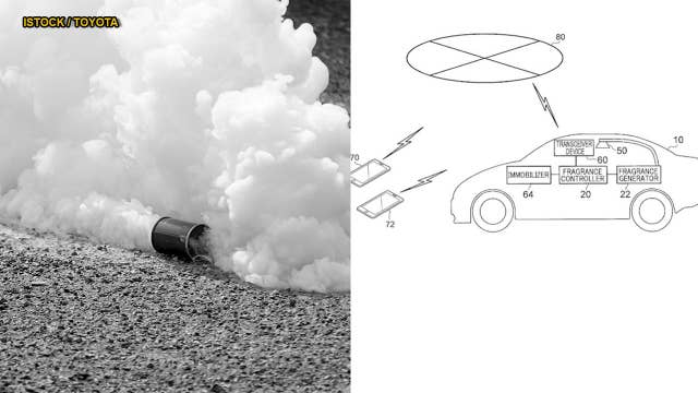 Toyota's tear gas system designed to smoke out car thieves