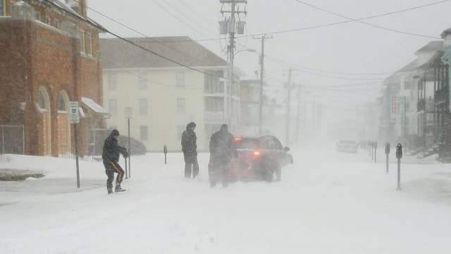 What is a 'bomb cyclone'