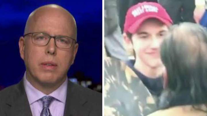 Attorneys for Covington Catholic student Nicholas Sandmann seek to sue CNN for $275 million