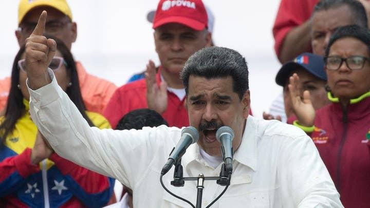 President Nicolas Maduro blames US, Juan Guaido for Venezuela power outage