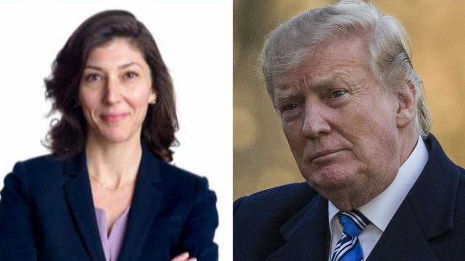 Lisa Page transcripts reveal details of anti-Trump 'insurance policy'