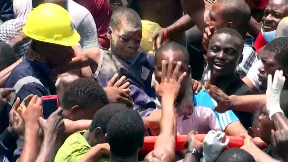 Dozens of schoolchildren feared dead after school collapse in Nigeria
