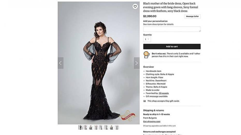 48a36eb29410 Risqué  mother of the bride  dress goes viral on Twitter