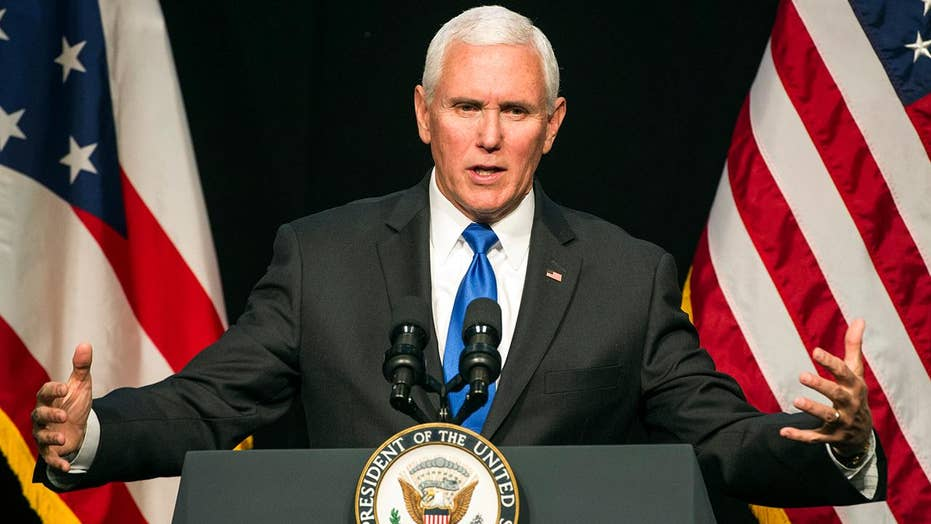 Vice President Pence rallies support for Trump's national emergency declaration