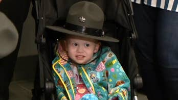 4-year-old girl battling cancer becomes honorary Pennsylvania State Trooper