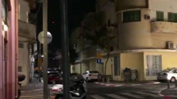 Israeli military says two rockets were fired from Gaza toward Tel Aviv