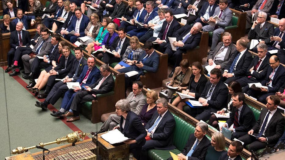 Brexit fortitude fails in Parliament