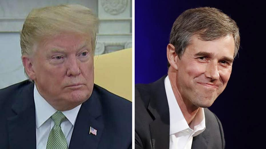 Trump: Is Beto O'Rourke crazy or is that just the way he acts?