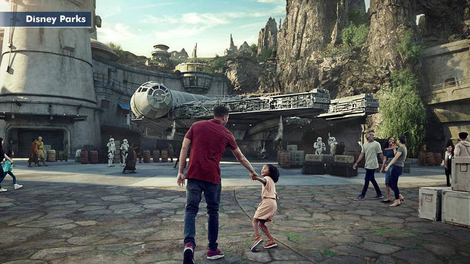 Anticipation builds for Disney's 'Star Wars' theme park attractions