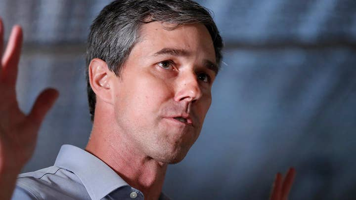Seeing green: Beto O'Rourke warns climate change could cause 'extinction'