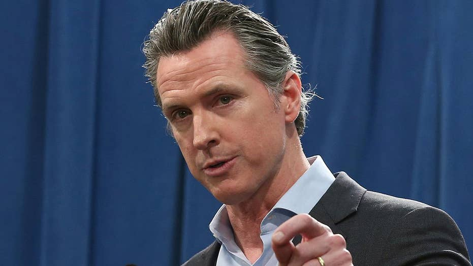 The far left cheers on California governor for stopping the death penalty