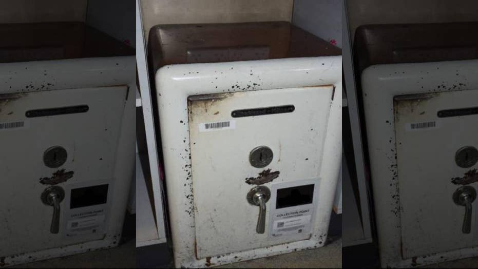 Suspected burglar crushed to death by 900-pound safe: police