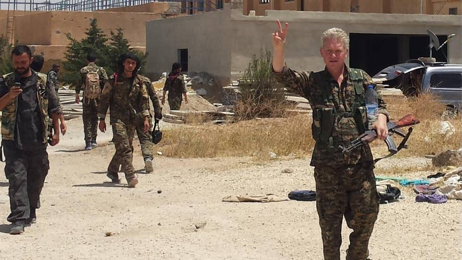 Former Hollywood actor who joined anti-ISIS fight wants to return to U.S., has been left in limbo