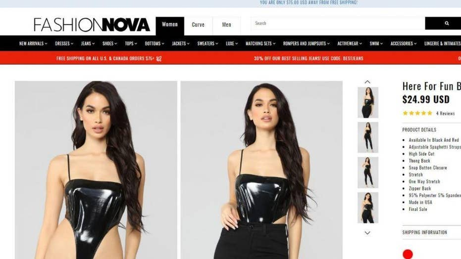 See the new item from Fashion Nova that's being dubbed: 'A thong with arm straps'