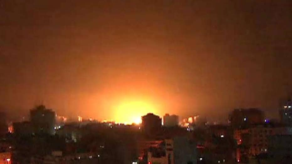 Israel Defense Forces confirms rockets fired from Gaza were launched by the Hamas terrorist organization