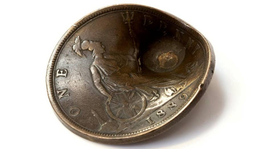 Penny that saved WWI soldier's life to go adult for auction