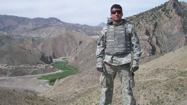 Afghan man who risked his life as an interpreter for American soldiers becomes US citizen