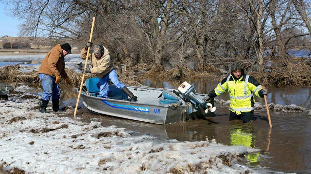 Rescues and evacuations underway in Nebraska following flooding thumbnail