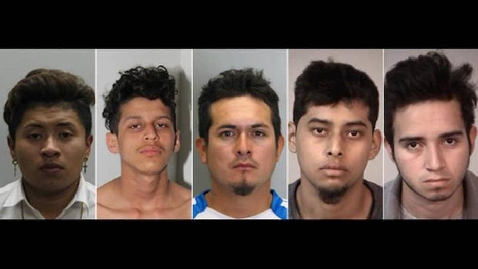 MS-13 members accused of stabbing 16-year-old 100 times
