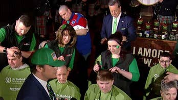 Going bald for a great cause: St. Baldrick's raises money for cancer research