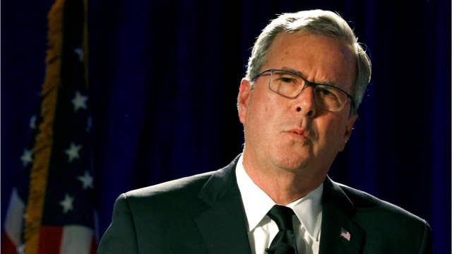 Jeb Bush calls for a Republican challenger in 2020
