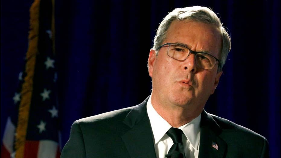 Jeb Bush calls for a Republican challenger in 2020