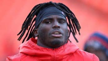 Kansas City Chiefs star Tyreek Hill accused of hitting son suspended after audio emerges of him allegedly threatening fiancee