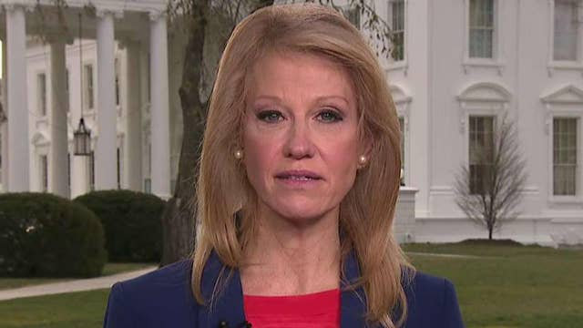 Kellyanne Conway reacts to Trump being blamed in New Zealand massacre