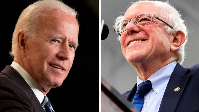 Biden, Sanders top Democratic preference