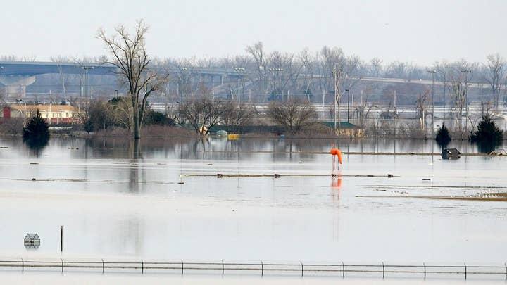 Hundreds of homes flooded after Missouri River flowed over, breached levees