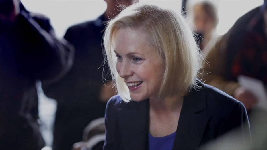 Kirsten Gillibrand is joining the ever-growing field of Democrats hoping to unseat President Trump