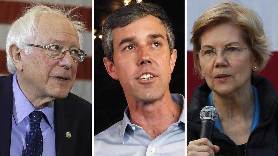 Which 2020 presidential hopeful is resonating most with Democrat voters?