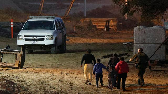 Processing migrant families puts added pressure on Border Patrol agents