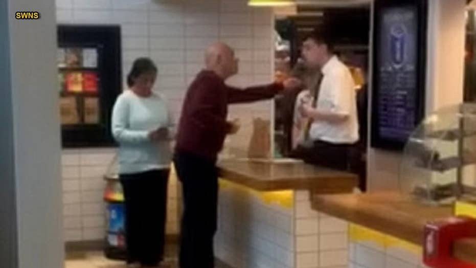 Vegetarian McDonald's customer yells at staff over being served meat... twice