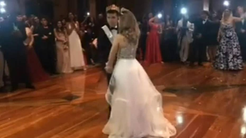 Prom night turns magical for one student with autism