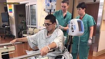 National Guard recruit battling flesh-eating bacteria after falling ill at basic training