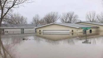 Nebraska woman describes evacuating home, floodwaters' devastation