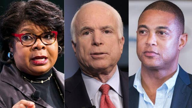 CNN anchor Don Lemon and political analyst April Ryan defend their recent praise for 'war hero' Sen. John McCain
