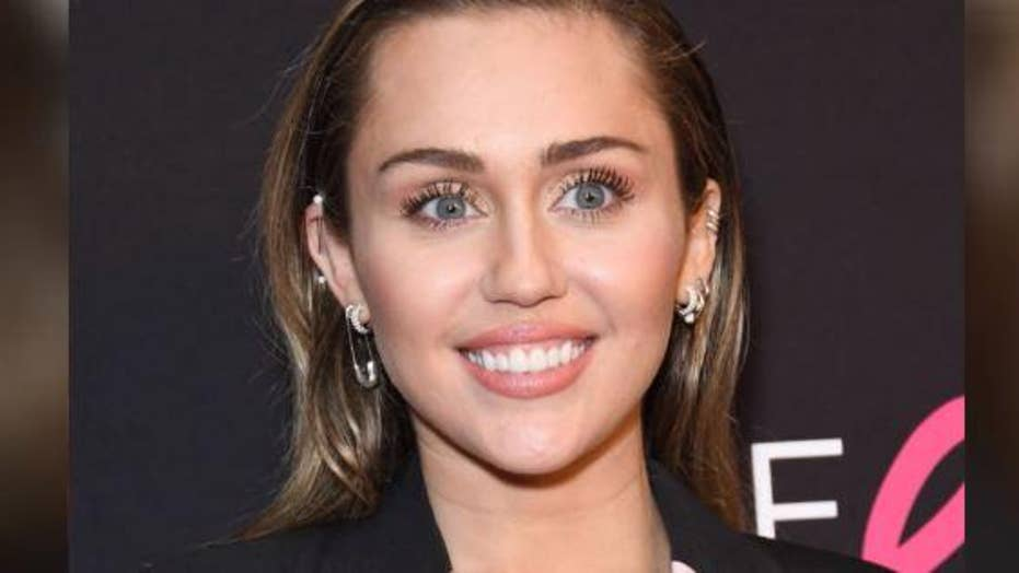 Miley Cyrus shares a sultry Instagram photo of herself