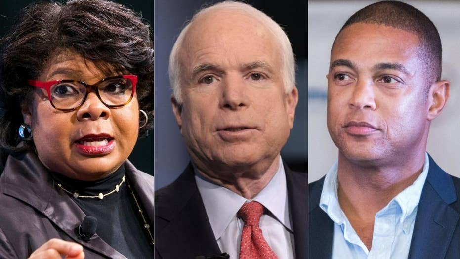 CNN anchor Don Lemon and political analyst April Ryan defend their recent praise for 'war hero' Sen. John McCain