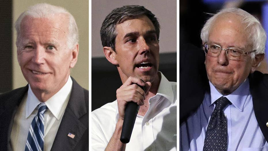 Can Biden compete with Beto and Bernie's fundraising?
