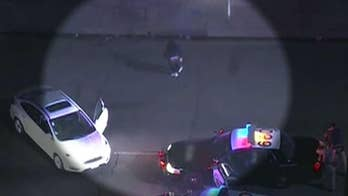 High-speed chase ends in breakdance routine