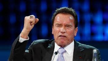 Arnold Schwarzenegger's security guard almost tasered an alleged bike thief
