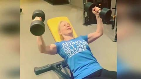 Gillibrand dragged on social media for 'cringeworthy' workout video