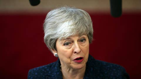 British PM May faces backlash after blaming lawmakers for Brexit crisis
