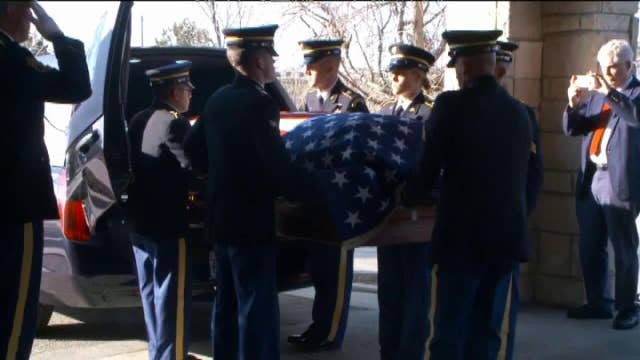 World War Two hero's remains returned home to Utah