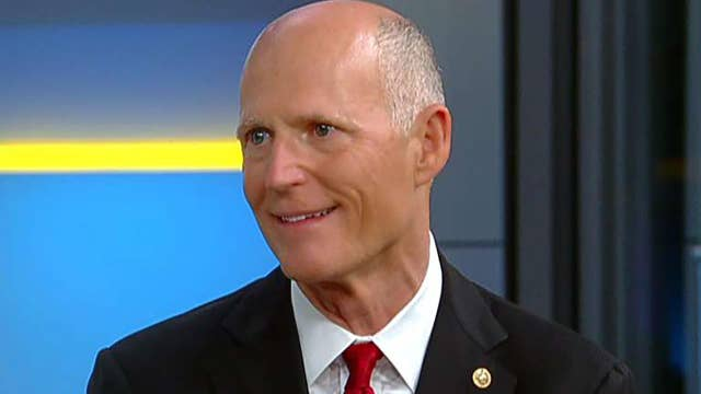 Sen. Scott reacts to liberal policies pushing companies out of NY to Florida