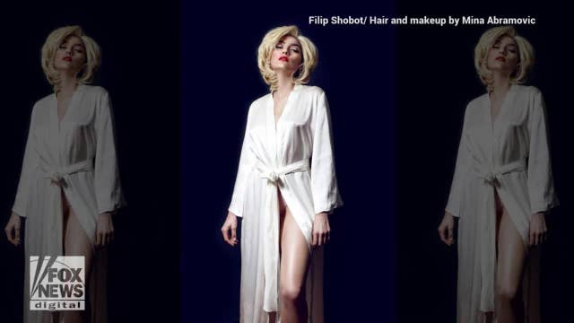 Actress Blanca Blanco pays tribute to Marilyn Monroe